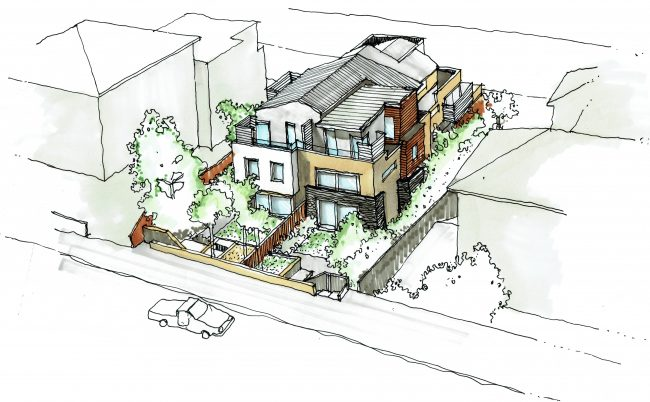 59 Shirley Road - Perspective